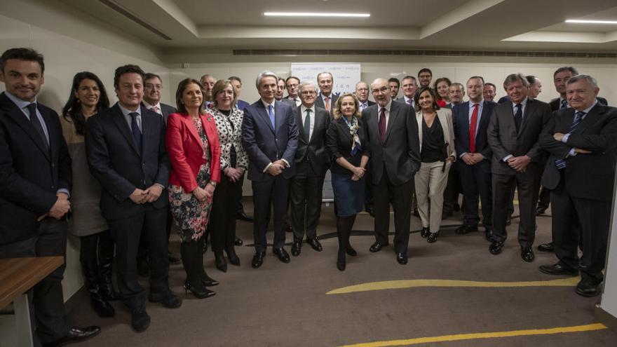 La ministra de Economía se reúne con la Fundación Conexus