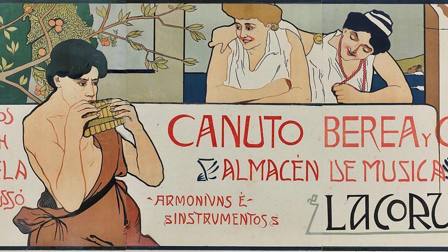 Un paseo coruñés por los fondos de la Biblioteca Nacional