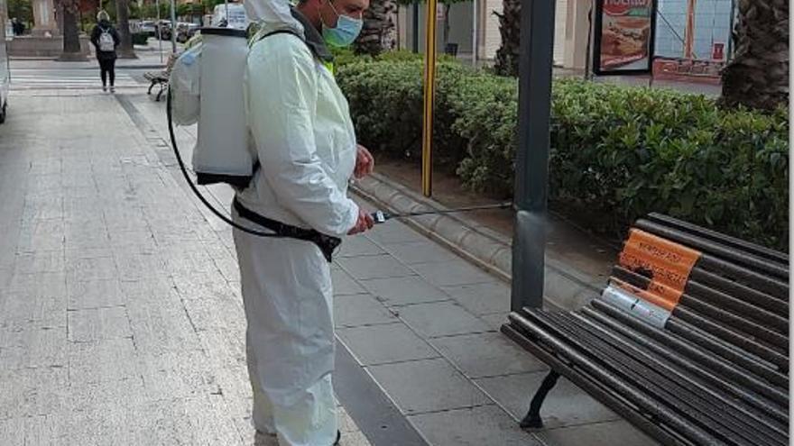 Torrent mantiene el personal del servicio limpieza y desinfección de la ciudad
