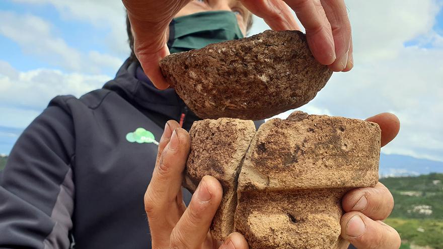 El reciclaje ya existía en el castro de Chandebrito