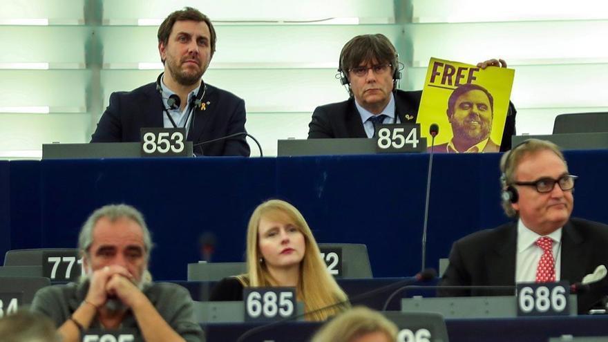 """Puigdemont: """"Europa no puede seguir mirando hacia otro lado"""""""