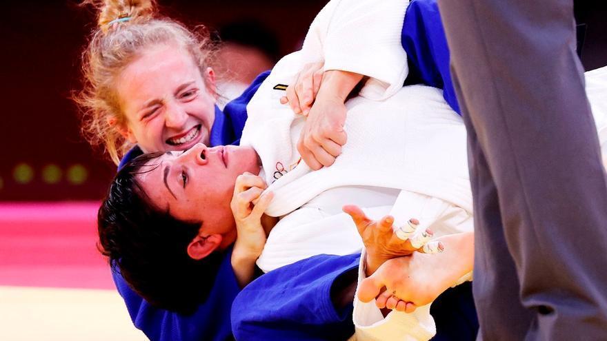 La judoca Julia Figueroa dice adiós en el segundo combate en Tokio