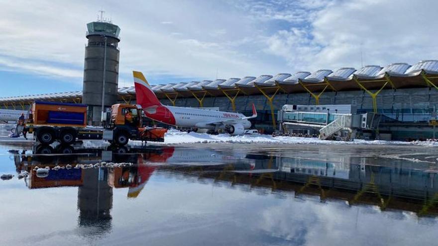 Las indemnizaciones por Filomena solo dan derecho al reembolso por los vuelos cancelados