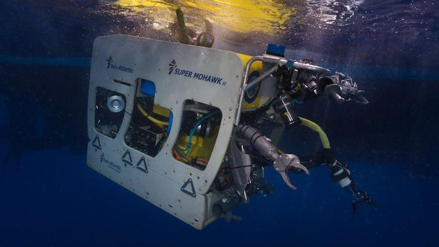 Un submarino no tripulado buscará en el fondo marino a las niñas desaparecidas en Tenerife