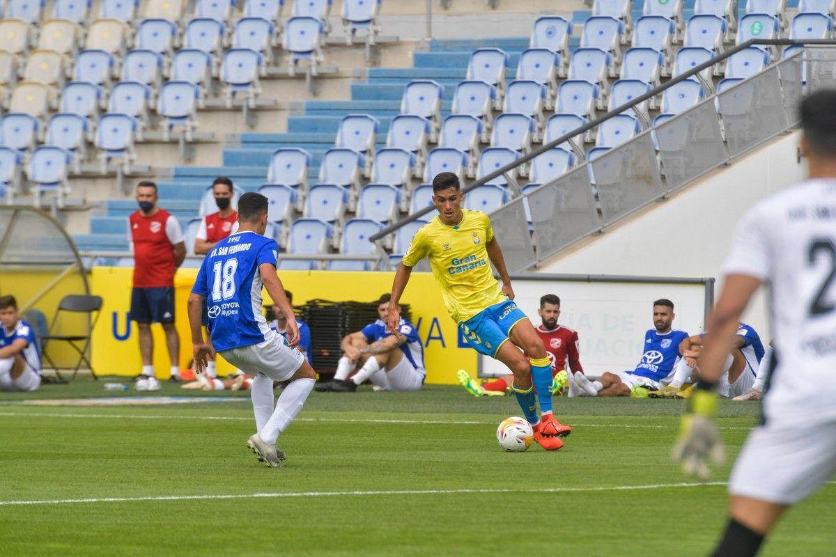 Amistoso entre UD Las Palmas y San Fernando