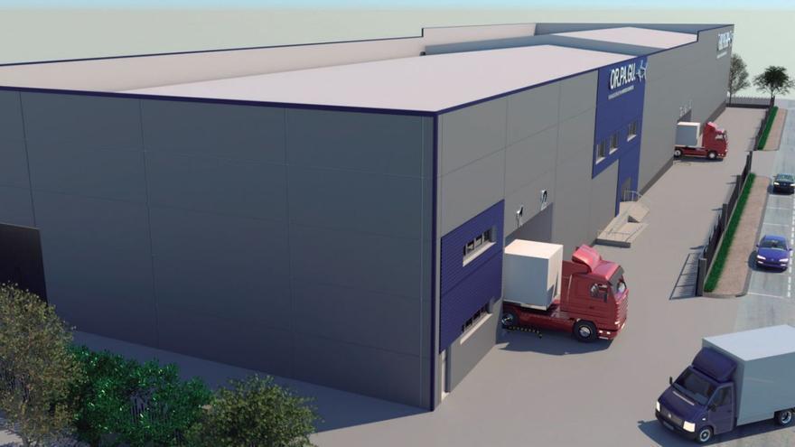 Orpagu licita la construcción de su factoría, cuya obra espera tener este mismo año