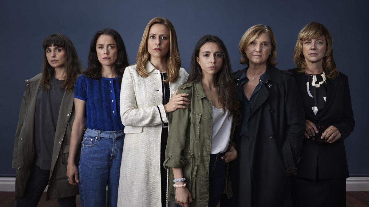 """Les protagonistes de la sèrie """"Intimidad""""."""
