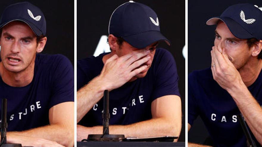 Murray anuncia entre lágrimas que se retirará este año