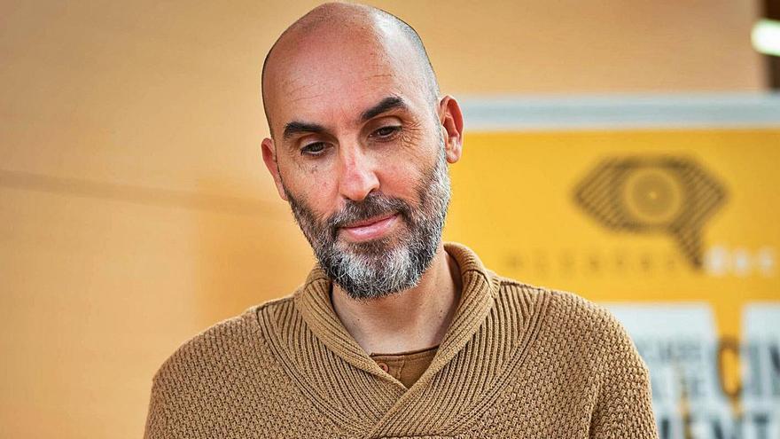 El director del Festival MiradasDoc, David Baute.