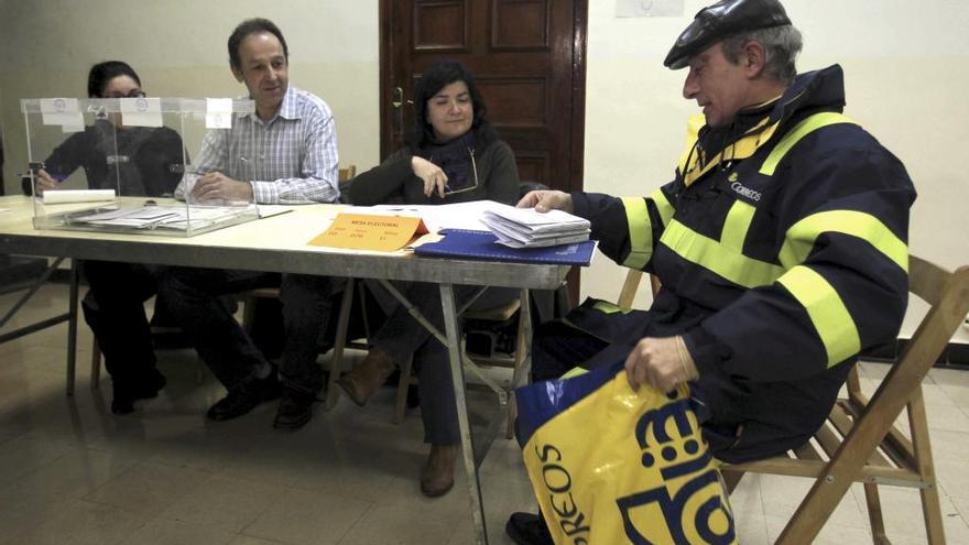 Se dispara el voto por correo en Baleares