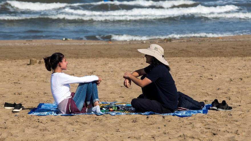El tiempo en Valencia: vuelven los 20 grados este martes