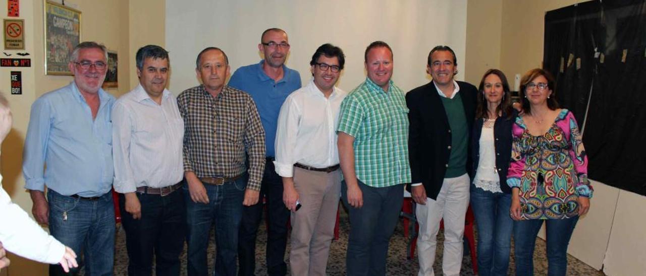Los alcaldes Xeraco y el Ràfol de Salem representarán al PP en la diputación
