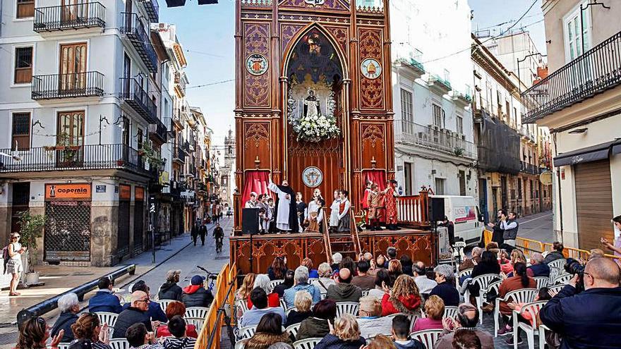 El Tossal sacará un Altar a la calle para que los devotos puedan rezarle a San Vicente