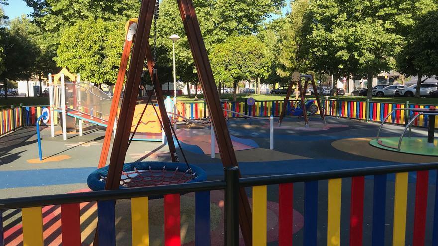 """IU pide al alcalde que """"tome nota del mandato anterior"""" y haga parques infantiles inclusivos"""