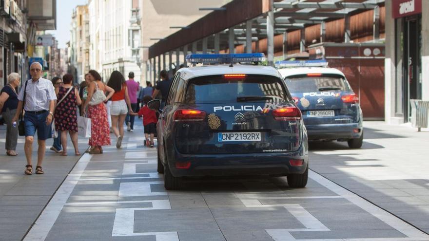 Detenidos tres carteristas por los últimos robos en el centro de Zamora