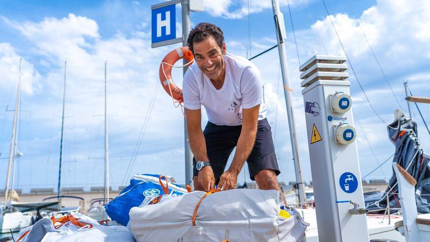José Linares, preparado para la Mini Transat 2021