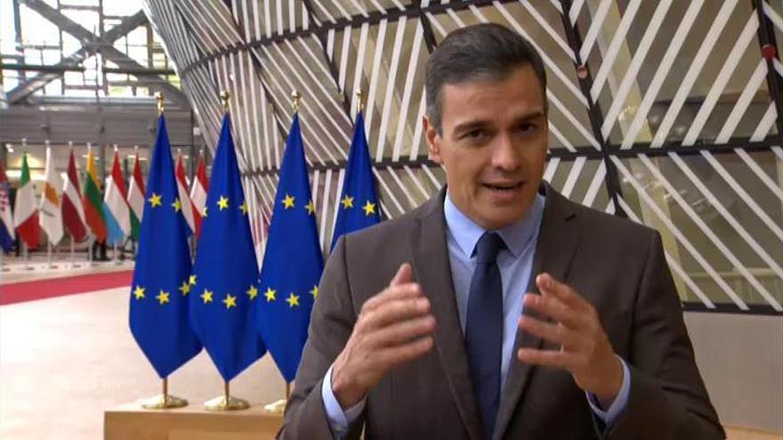 Sánchez pide a Bruselas armonía en las restricciones