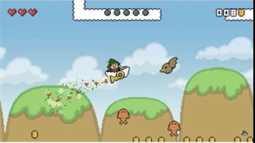 El videojuego de Xanguito, un homenaje al Mario Bros de la Super Nintendo