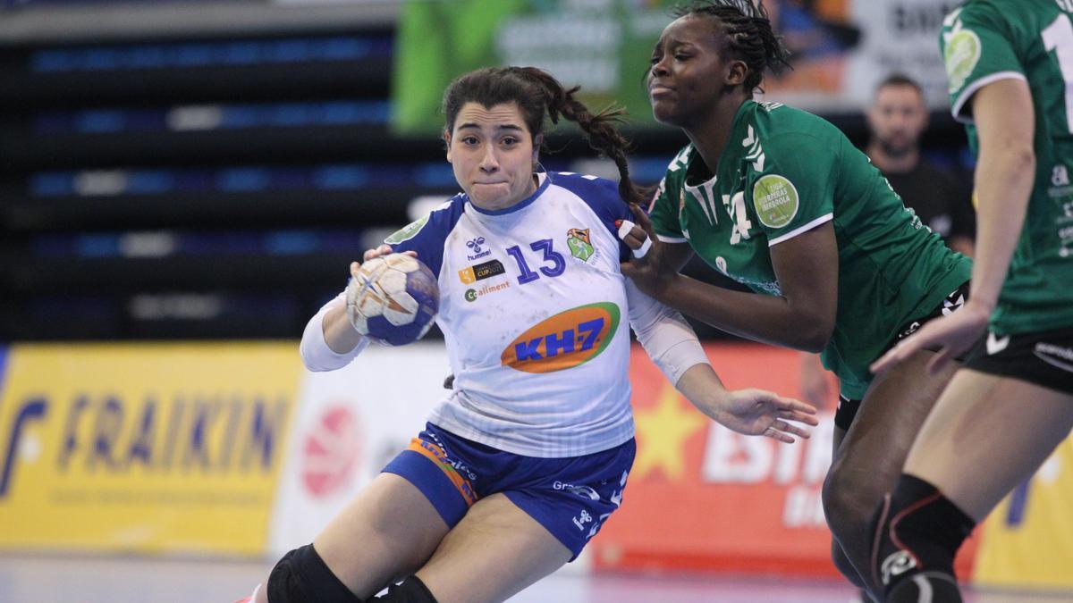 Lysa Tchaptchet, durante el partido del pasado domingo frente al Granollers