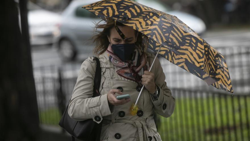 La Aemet alerta para mañana de rachas de viento de hasta 110 kilómetros en Castilla y León
