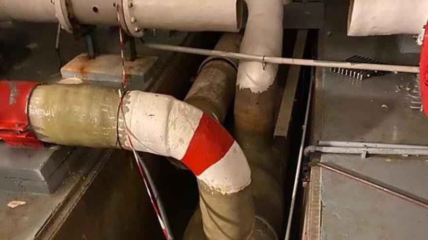 Xàbia llevará agua en camiones cuba a las urbanizaciones tras reventar otra vez la tubería de la desaladora
