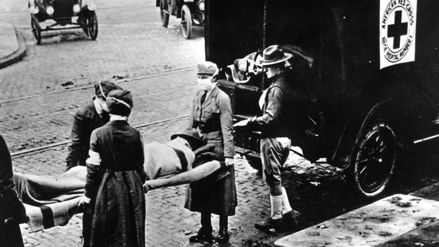 De la gripe de 1918 al coronavirus de 2020: lecciones a aprender