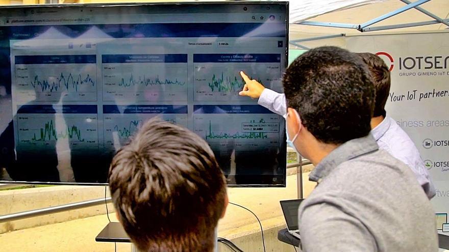 Alcoy  instala una red de sensores para controlar y gestionar servicios públicos