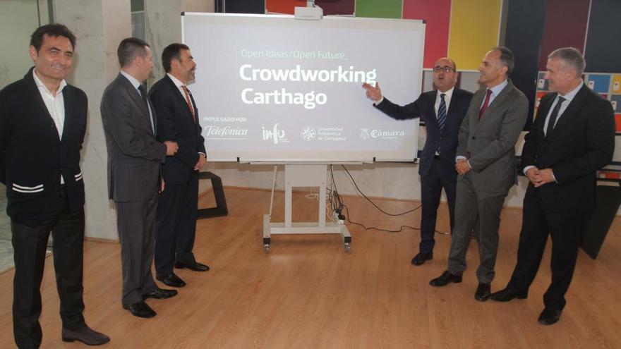 Cartagena acoge la primera ´aceleradora conectada´ de empresas emergentes