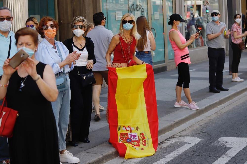 Manifestación contra el Gobierno de Sánchez