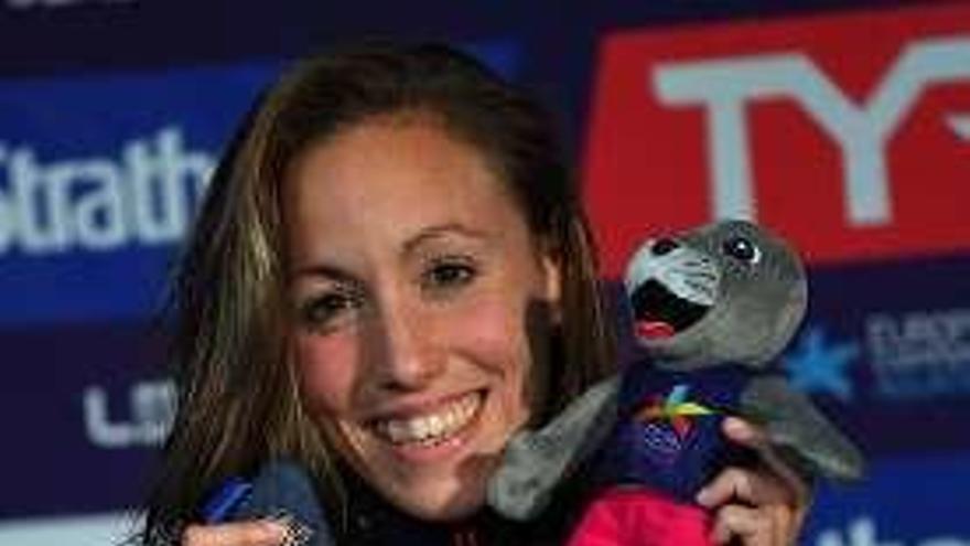 Jessica Vall logra la medalla de plata