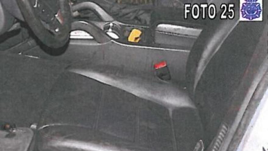 Imágenes tomadas por la policía en el escenario del asesinato de María del Carmen Martínez