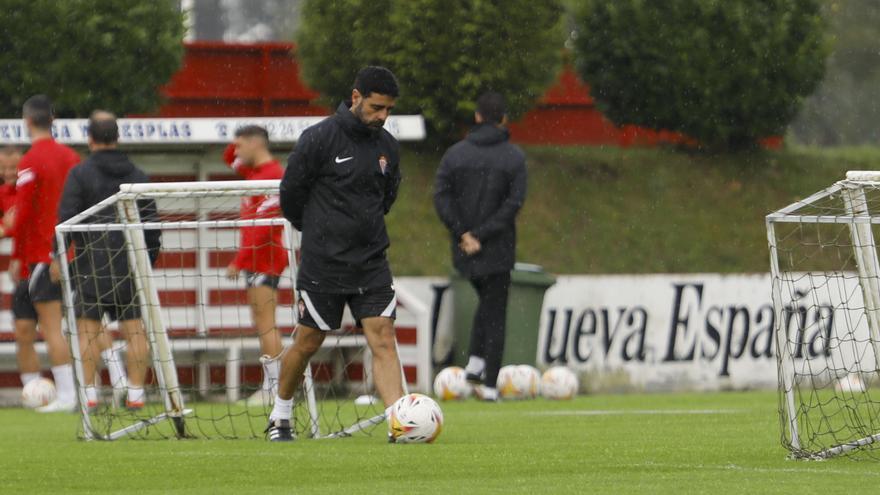"""Gallego, tras la primera derrota del curso: """"El equipo está fenomenal"""""""
