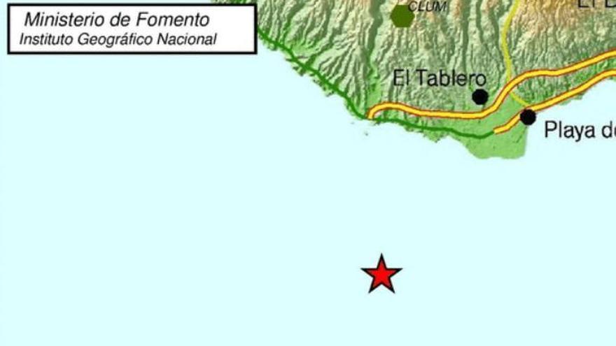 Terremoto en la costa de Mogán