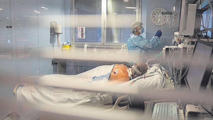 Davallada dels ingressats als hospitals gironins