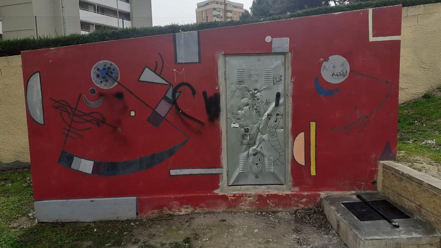 El Campello inicia la restauración de murales del Museo al Aire Libre