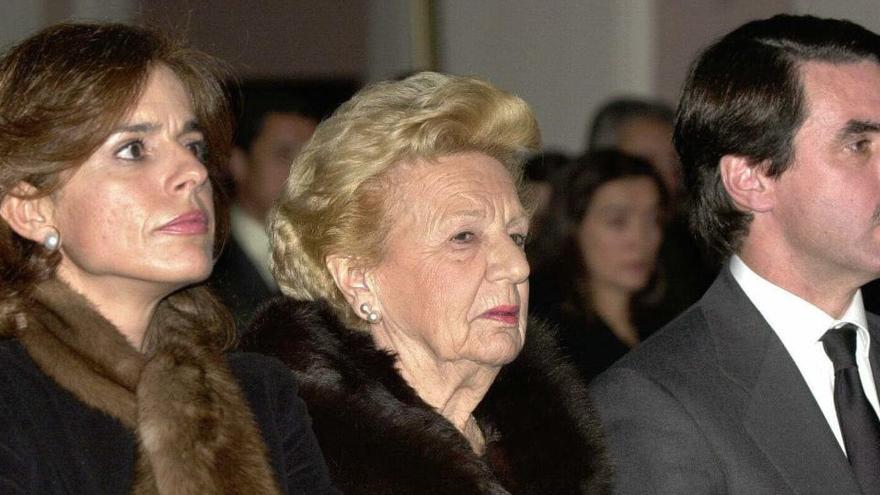 Muere a los 98 años la madre de José María Aznar