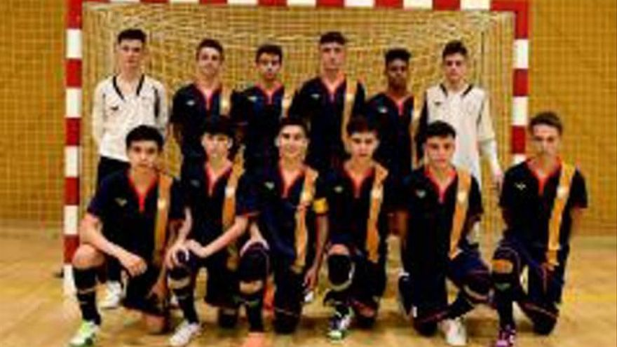 La selecció infantil cau a semifinals davant Múrcia
