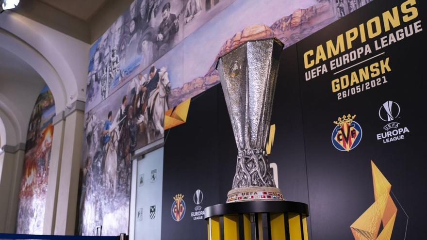 La Europa league del Villarreal ha llegado a Castelló