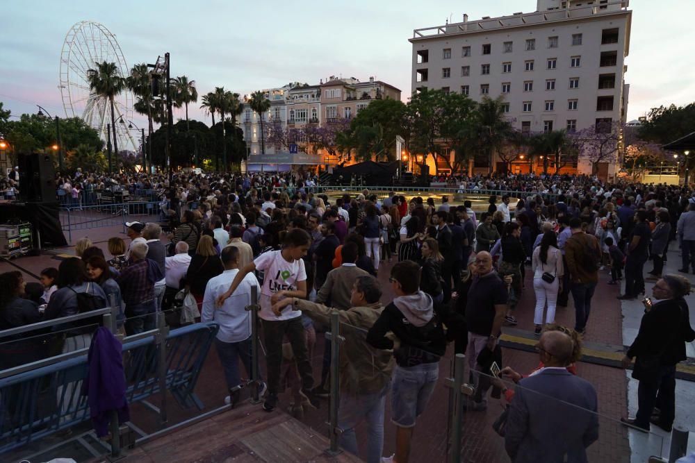 La Noche en Blanco de Málaga de 2019, en imágenes