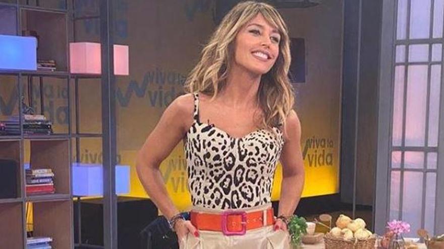 """El sorprendente comentario de Emma García durante Viva la Vida: """"Me has dejado babeando"""""""