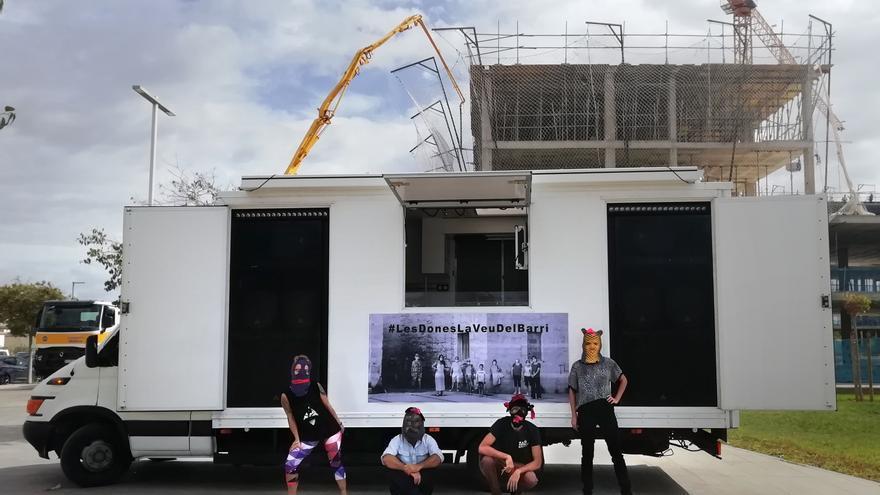 Arranca en la Soledat el festival de videoarte feminista 'Fem Tour Truck'