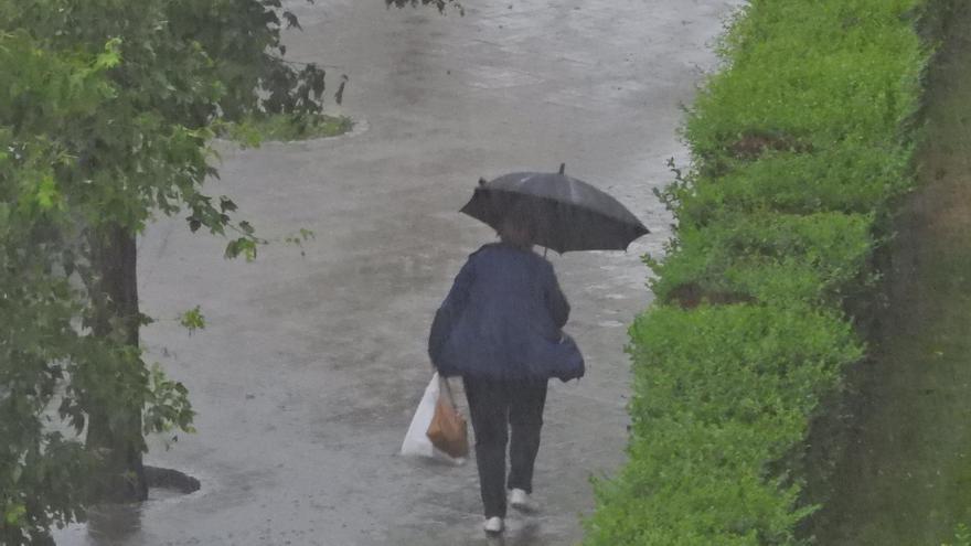 Las lluvias en el mes de junio doblaron los valores medios con 100 litros por metro cuadrado