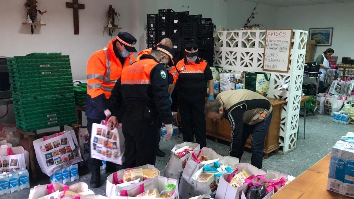 La Junta concede 130.000 euros a las agrupaciones de Protección Civil de Málaga