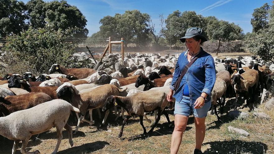 Almudena, vida de una pastora en Sayago