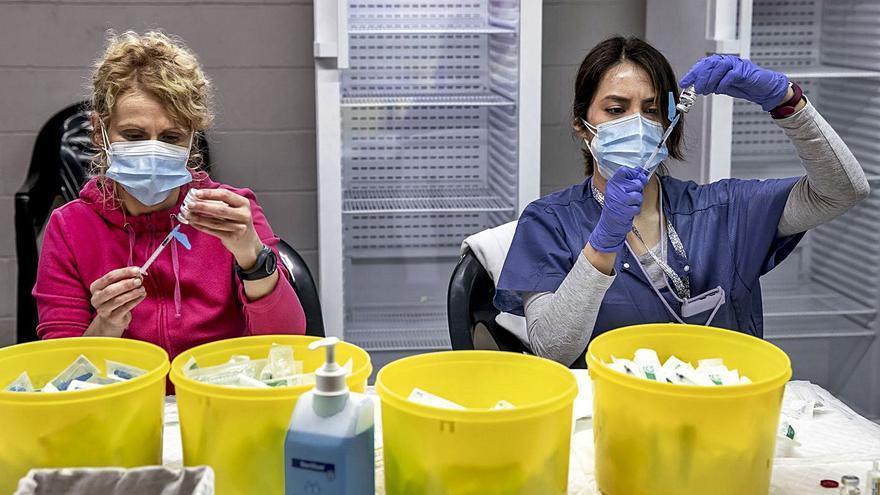 El 79,9% de los contagiados de covid en Baleares durante 2021 no estaba vacunado