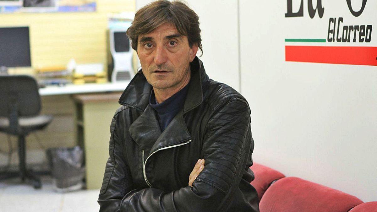 Ángel Villamor, alcalde de Moraleja de Sayago, durante una entrevista en La Opinión.