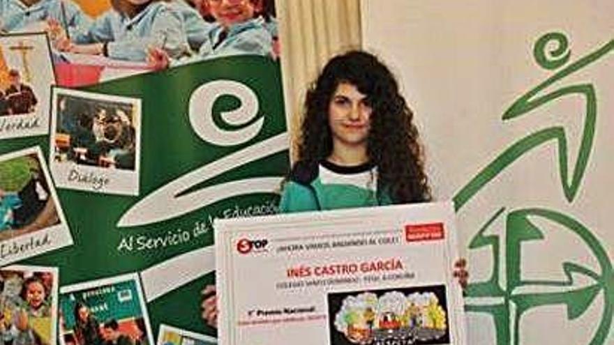 Inés Castro gana el premio de Stop Accidentes