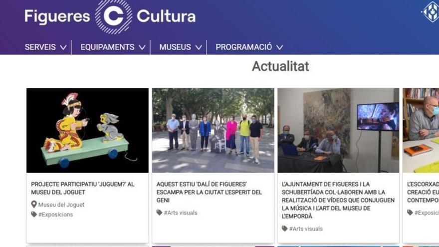 L'Ajuntament de Figueres estrena nova pàgina web de Cultura