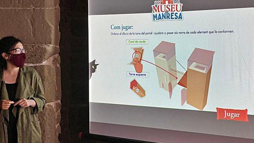 El Museu de Manresa crea un joc virtual de l'edat mitjana