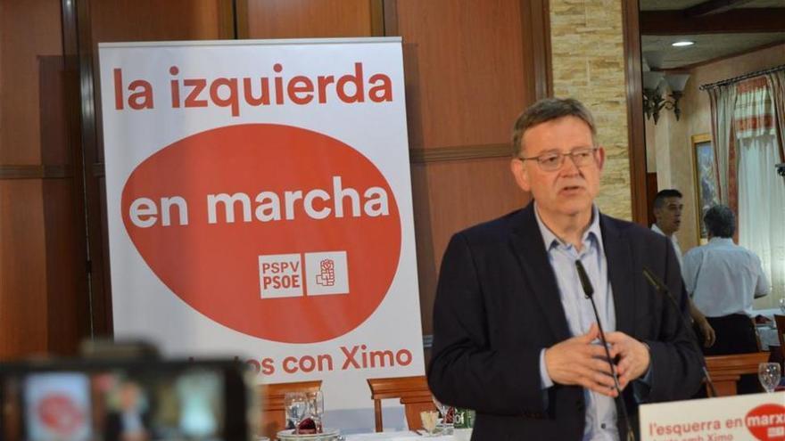 Los alcaldes y portavoces del PSPV en Els Ports dan su apoyo a Puig